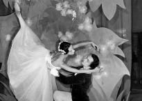 Magdalena Popa şi Sergiu Ştefanschi în GISELLE de A. Ch. Adam (1962)