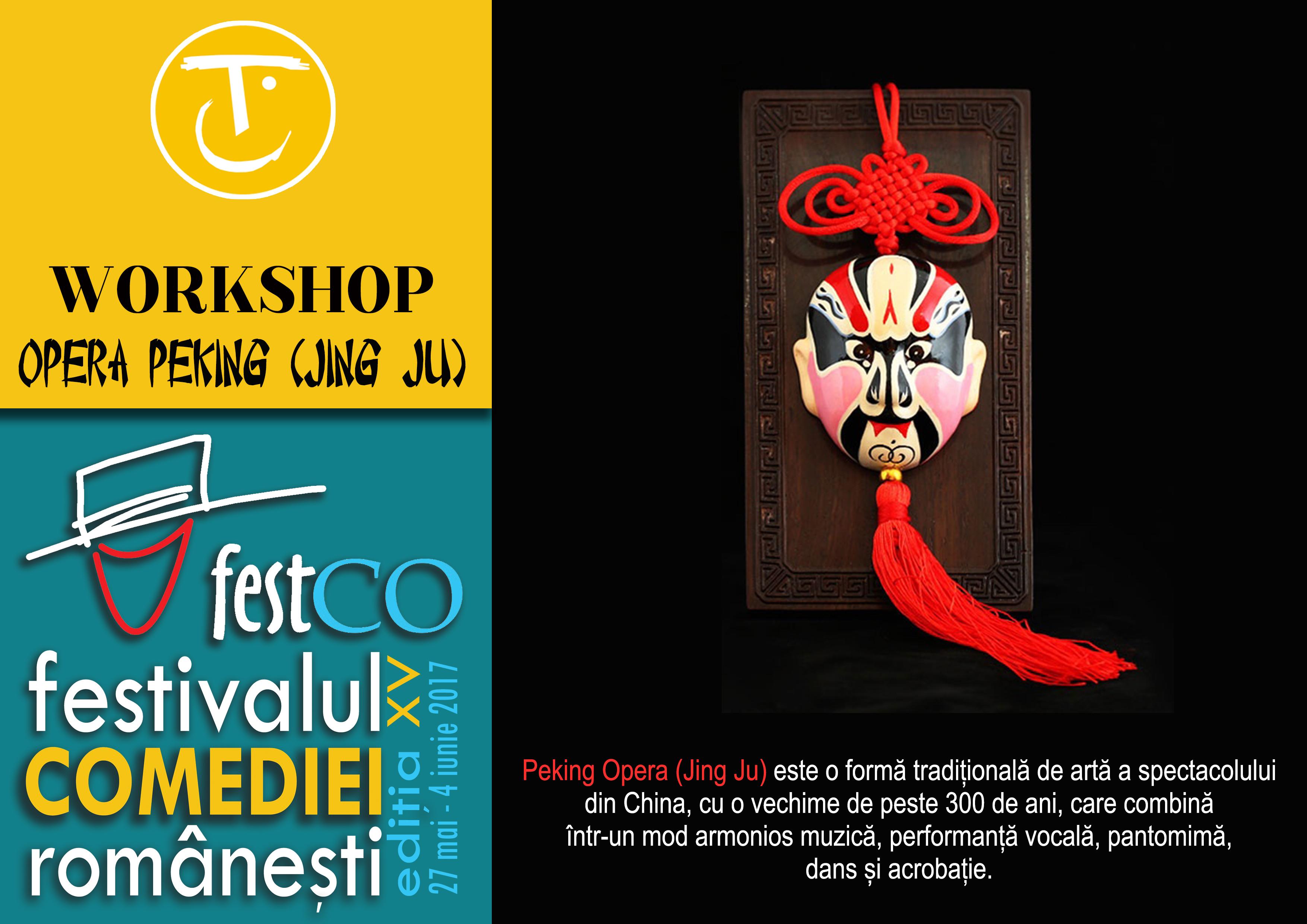 workshop opera peking